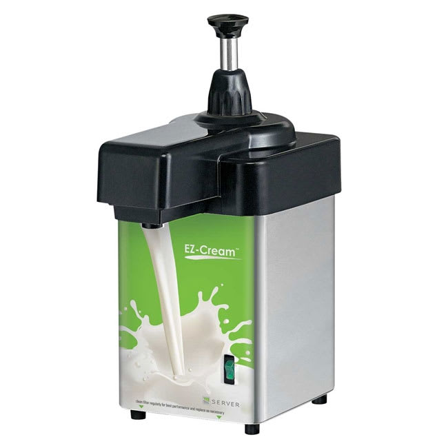 Server 94160 Dairy Dispenser w/ 5/16-oz/Stroke Capacity, Stainless