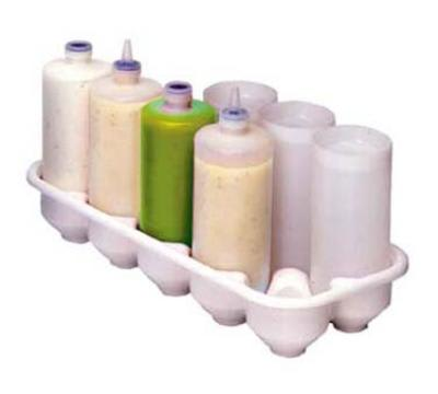 Prince Castle 155 Bottle Storage Tray for Squeeze Bottle Condiment Dispensers
