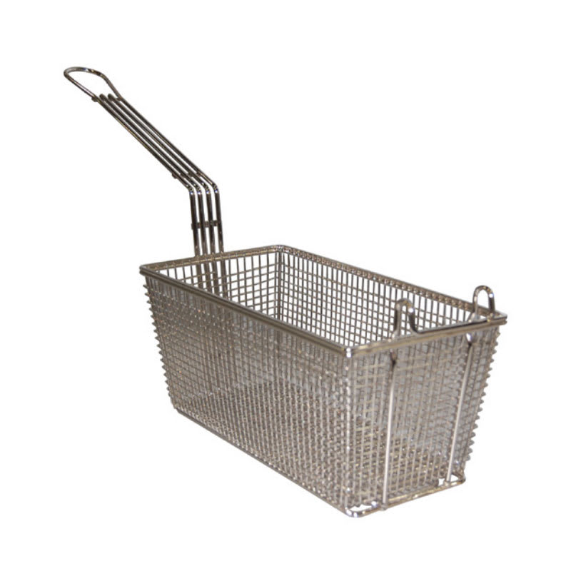 Prince Castle 678 Half Size Fryer Basket, Nickel Plated