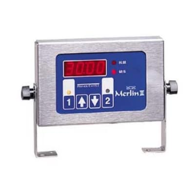Prince Castle 740-T2 2-Channel Single Function Electric Timer, Bold LCD Readout