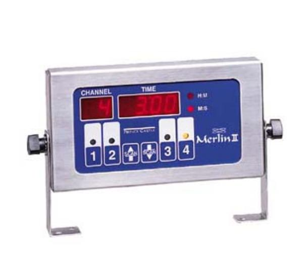 Prince Castle 740-T4 4 Channel Single Function Timer w/ Alarm, 120v