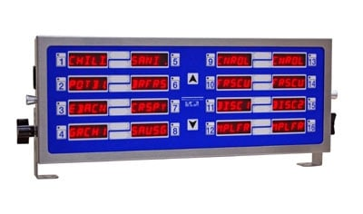 Prince Castle 755-HM16 Electric Horizontal Timer, 16-Channel, Multi-Function, 240v/1ph