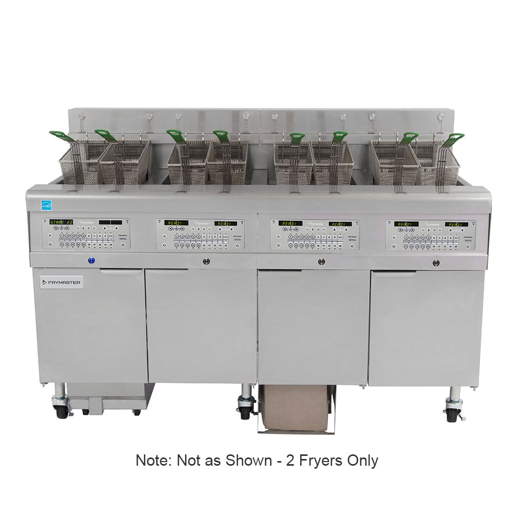 Frymaster 2FQE30U Electric Fryer - (2) 30 lb Vat, Floor Model, 208v/3ph