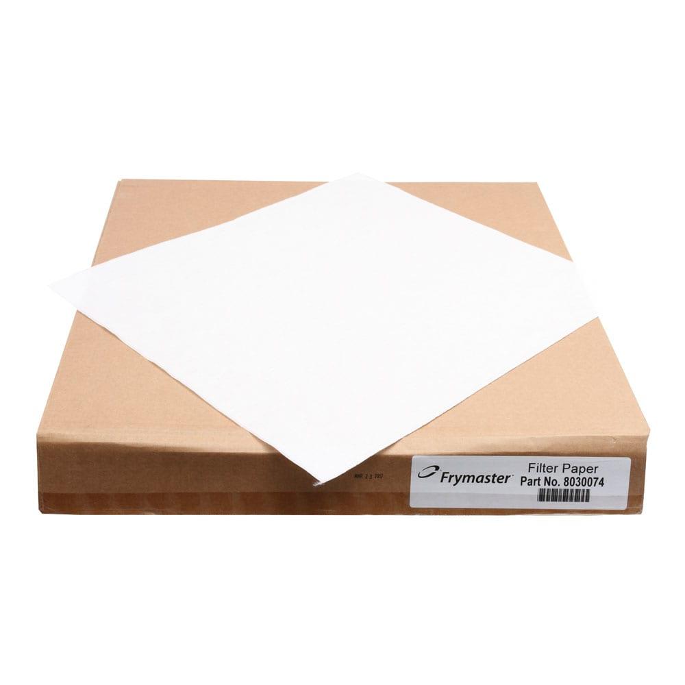 Frymaster 803-0074 Rectangular Fryer Filter Paper, Envelope