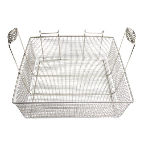 """Frymaster 803-0148 Fryer Basket w/ Coated Handle & Front Hook, 16.75"""" x 17.5"""" x 5.88"""""""