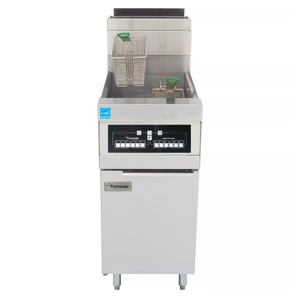 Frymaster CFHD150G-C Gas Fryer - (1) 50 lb Vat, Floor Model, NG