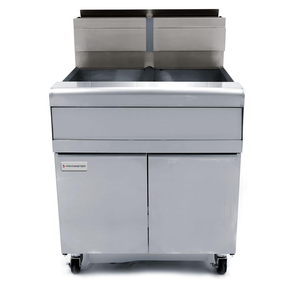 Frymaster FMJ240 Gas Fryer - (2) 40-lb Vats, Floor Model, NG
