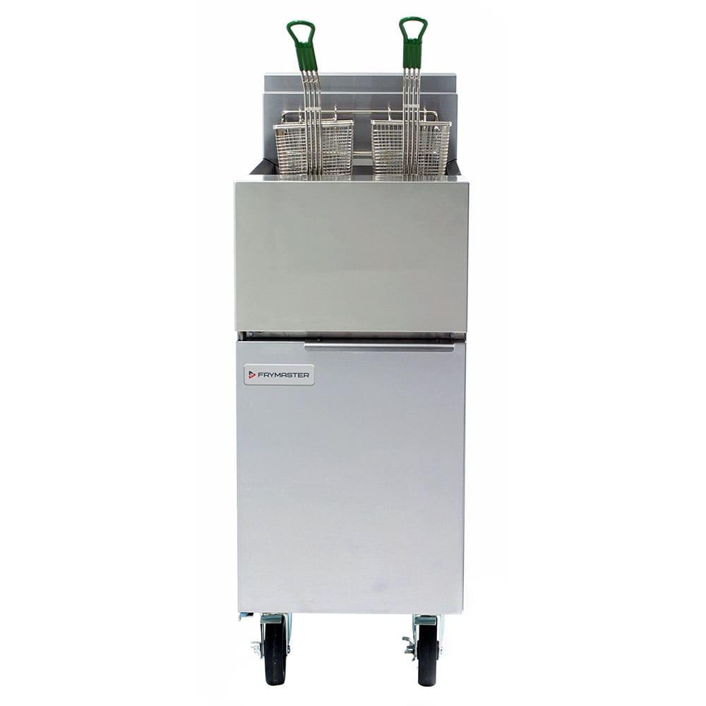 Frymaster GF14 Gas Fryer - (1) 40-lb Vat, Floor Model, NG