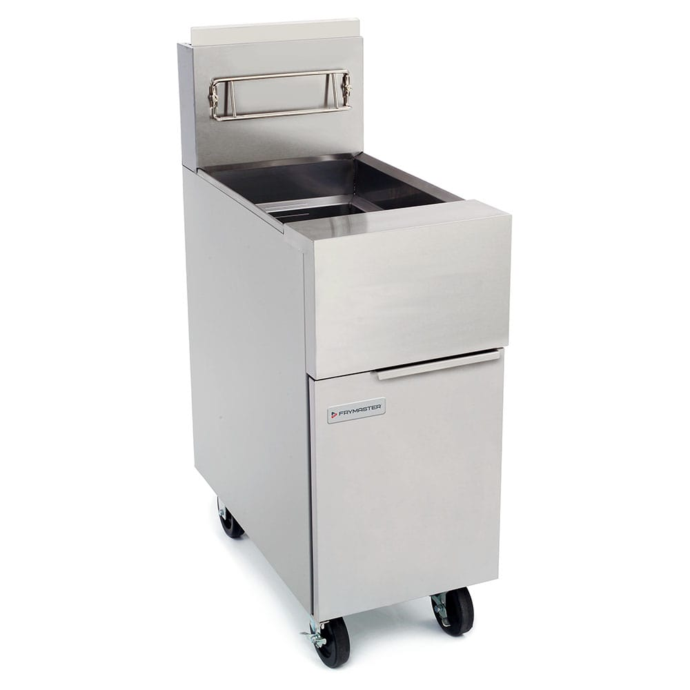 Frymaster GF40 Gas Fryer - (1) 50 lb Vat, Floor Model, LP