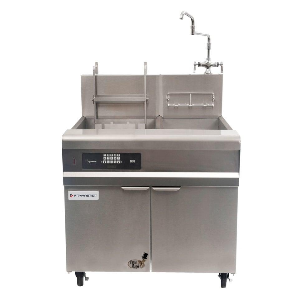 Frymaster GPCRB Pasta Cooker w/ Auto Lift Basket & Rinse Tank, Timer Control, LP