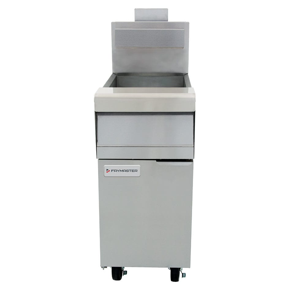 Frymaster MJ140 Gas Fryer - (1) 40 lb Vat, Floor Model, NG