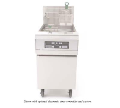 Frymaster MJCF Gas Fryer - (1) 80-lb Vat, Floor Model, NG