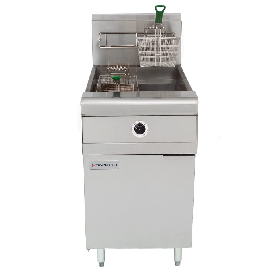 Frymaster MJ1CF Gas Fryer - (1) 80-lb Vat, Floor Model, NG