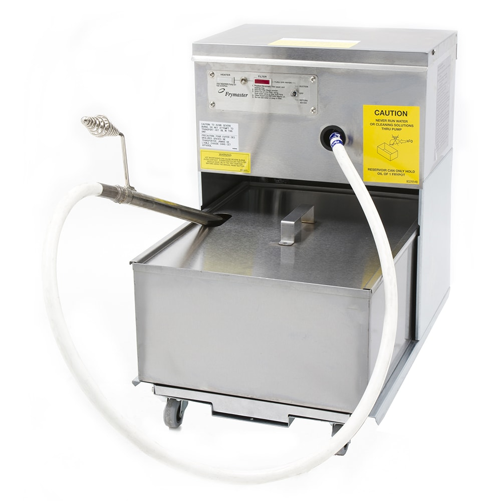 Frymaster PF80LP 80 lb Commercial Fryer Filter - Suction, 120v