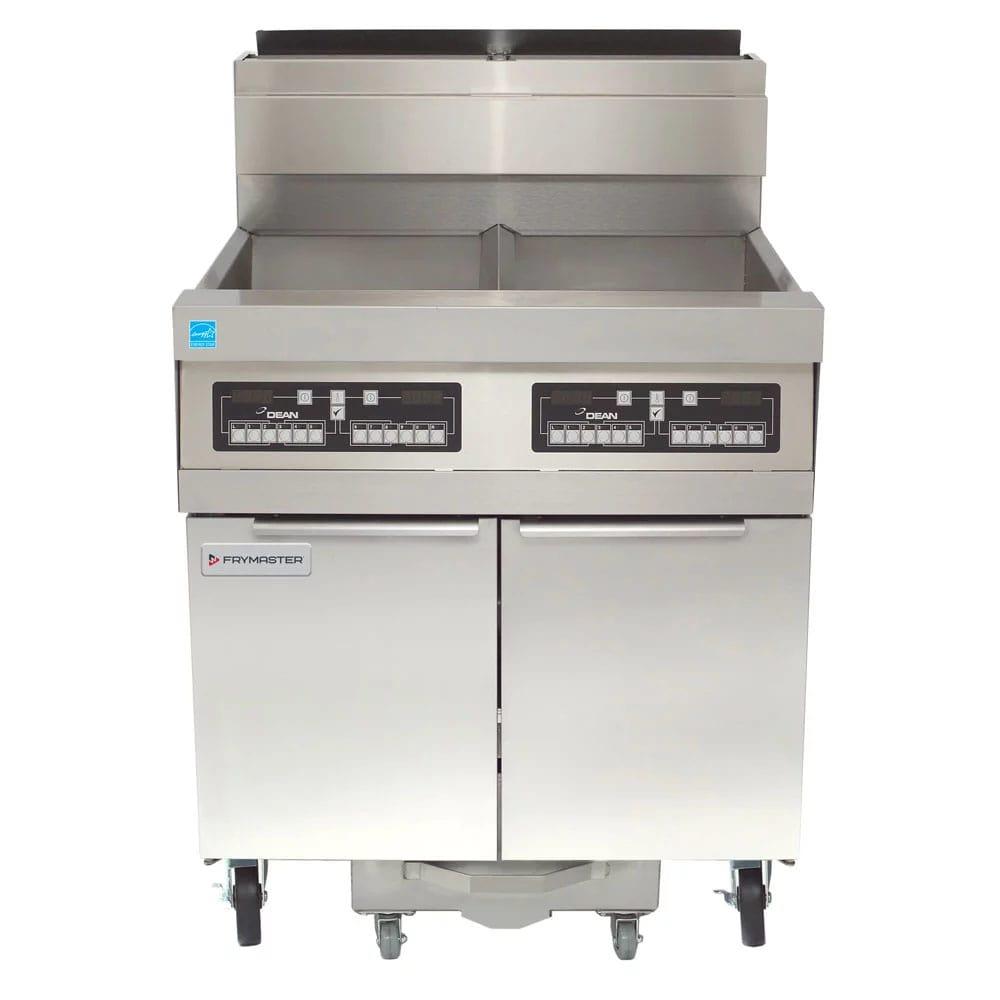 Frymaster SCFHD250G Gas Fryer - (2) 50-lb Vat, Floor Model, NG