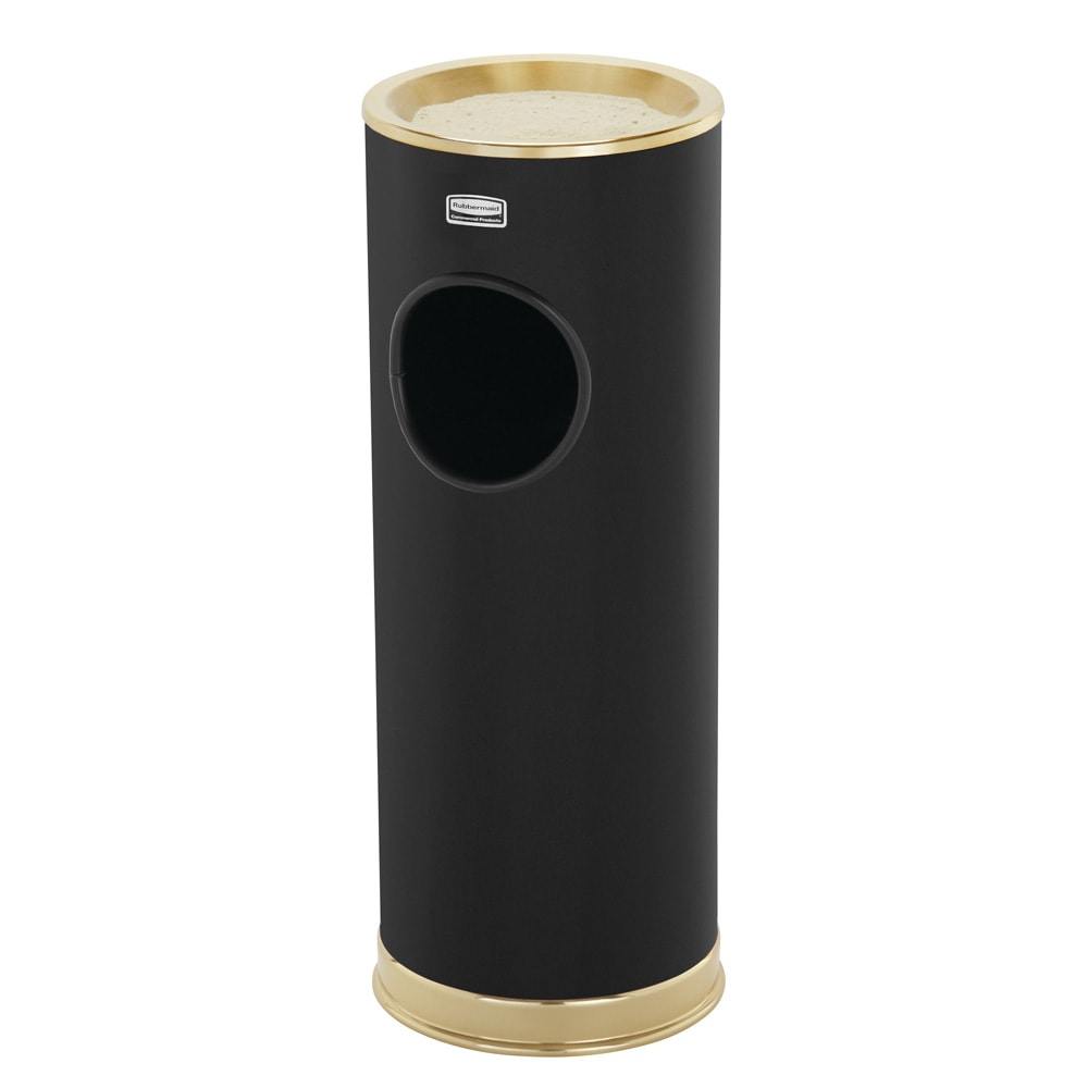 Rubbermaid FG110010BK Trash Can Top Cigarette Receptacle - Decorative Finish