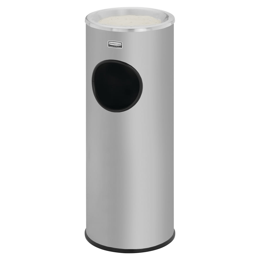 Rubbermaid FG1100SSS Trash Can Top Cigarette Receptacle - Decorative Finish
