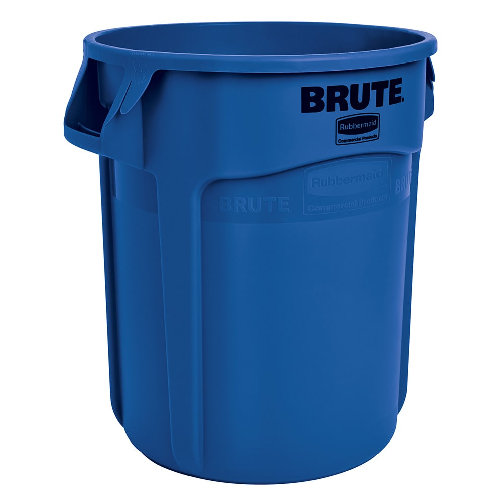 Rubbermaid 1779699 10-gal Multiple Material Recycle Bin - Indoor/Outdoor