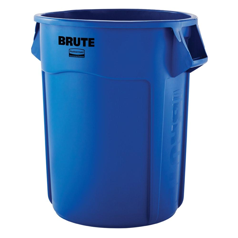 Rubbermaid 1779732 55 gal Multiple Material Recycle Bin - Indoor/Outdoor