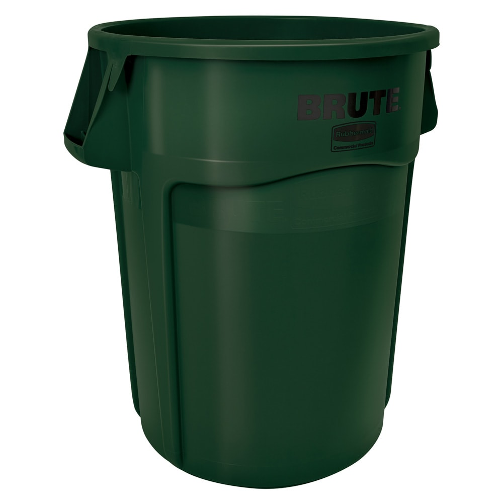 Rubbermaid 1779741 44-gal BRUTE Container - Dark Green