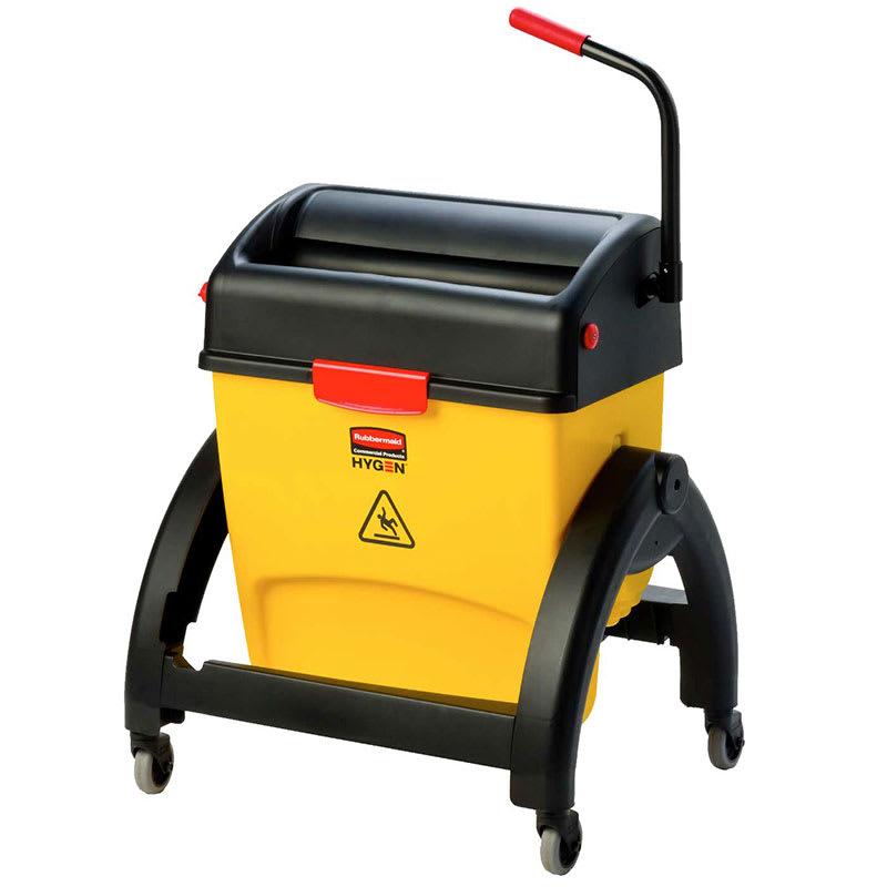 Yellow Kitchen Equipment: Rubbermaid 1791797 Hygen 16-qt Mop Bucket
