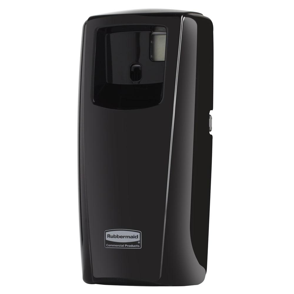 Rubbermaid 1793540 Standard Aerosol Odor Control System w/ LCD Display, Black