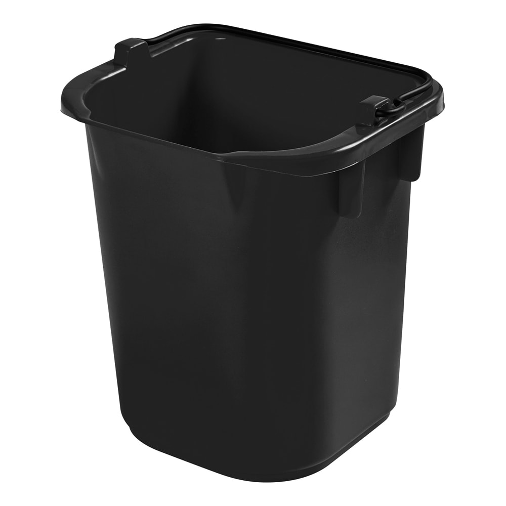 Rubbermaid 1857378 5 Qt Pail - Black