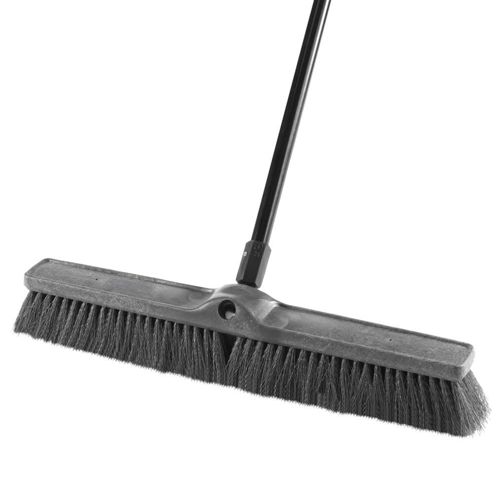 """Rubbermaid 1861211 24"""" Medium Sweep Push Broom - Multi-Surface"""