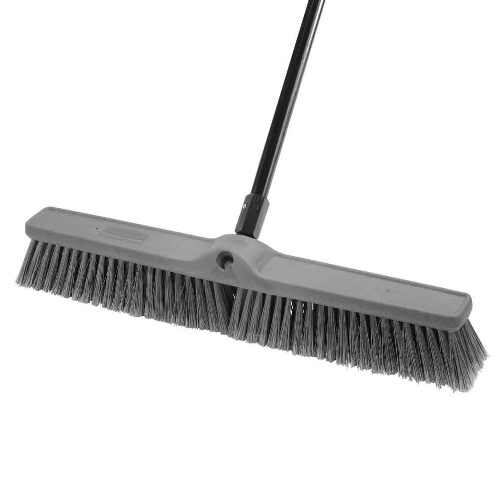 "Rubbermaid 1861213 24"" Fine Sweep Push Broom - Smooth Surface"