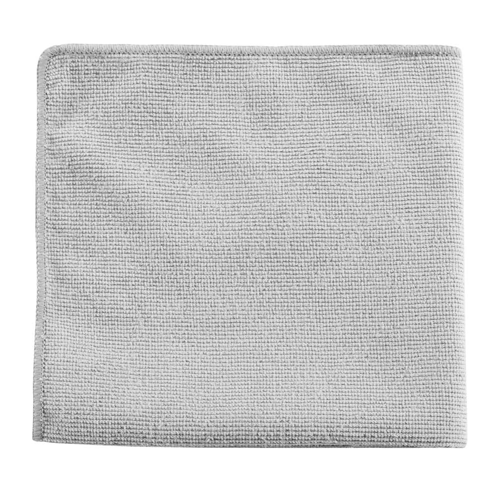 "Rubbermaid 1863888 12"" Executive Multi-Purpose Microfiber Cloth - Gray"
