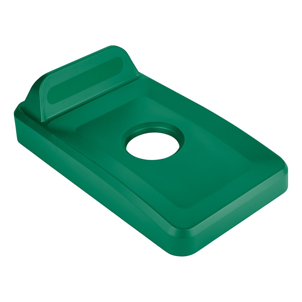 Rubbermaid 2018257 Rectangle Recycling Lid for 16 & 23 gal Slim Jim ...