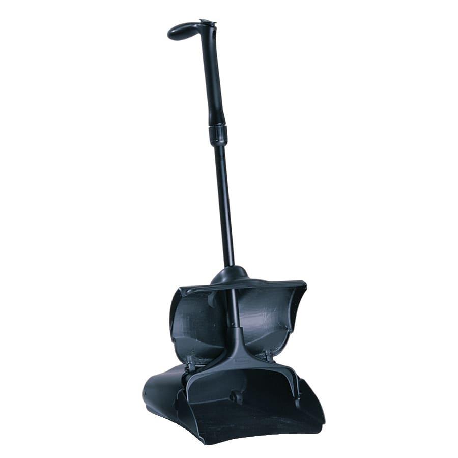 Rubbermaid FG253300BLA Lobby Pro Deluxe Upright Dust Pan - Black
