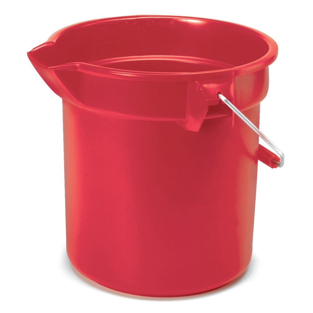 Rubbermaid FG261400RED 14 qt BRUTE Bucket - Red