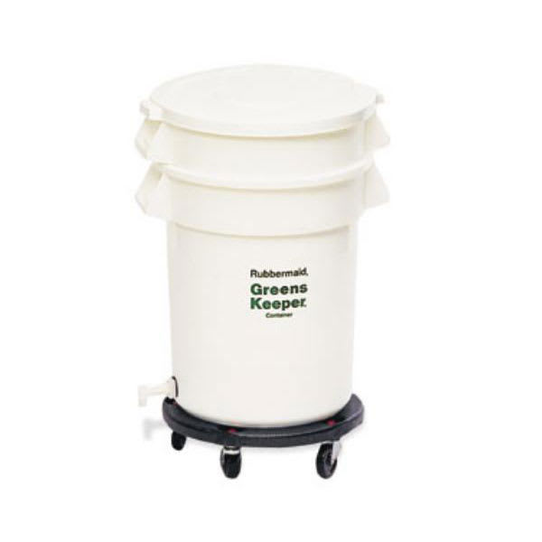 Rubbermaid FG262400WHT 20-gal ProSave BRUTE Container with Lid - White