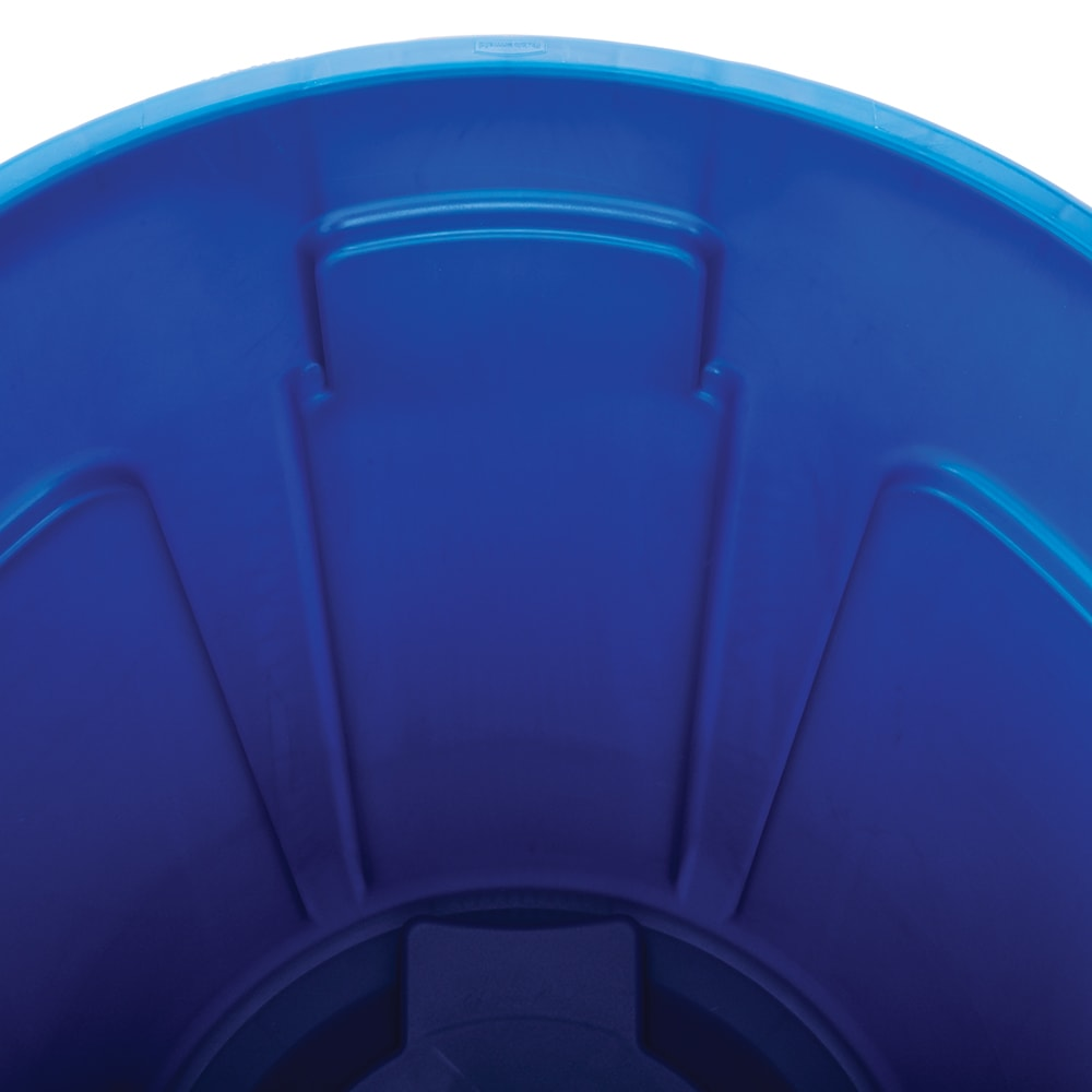 Rubbermaid FG263273BLUE 32-gal Multiple Material Recycle Bin - Indoor/Outdoor