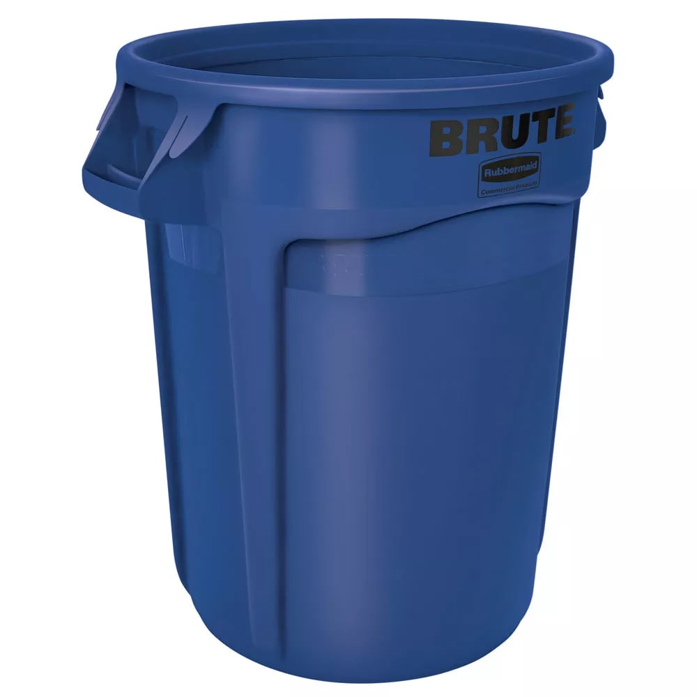 Rubbermaid FG264360BLUE 44-gal Multiple Material Recycle Bin - Indoor/Outdoor