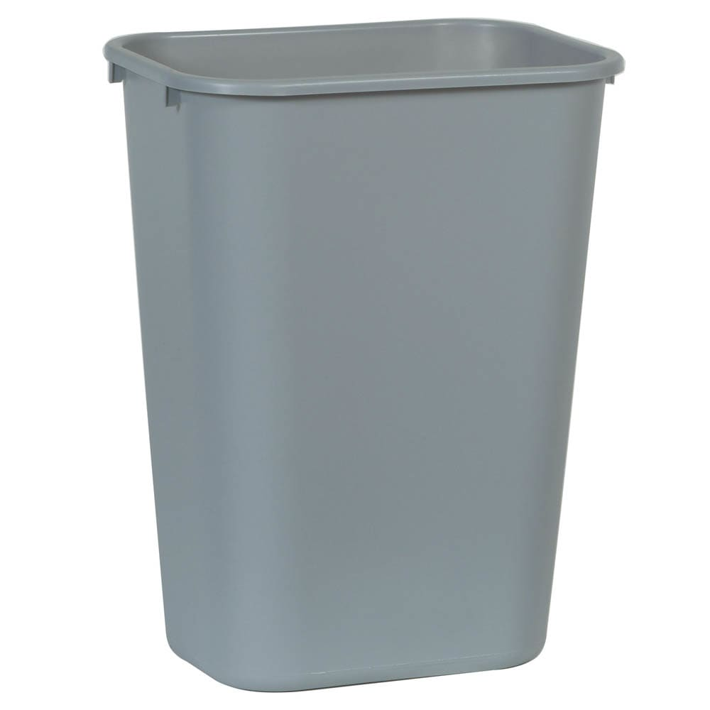 Rubbermaid FG295700GRAY 10.3 gal Multiple Material Recycle Bin - Indoor