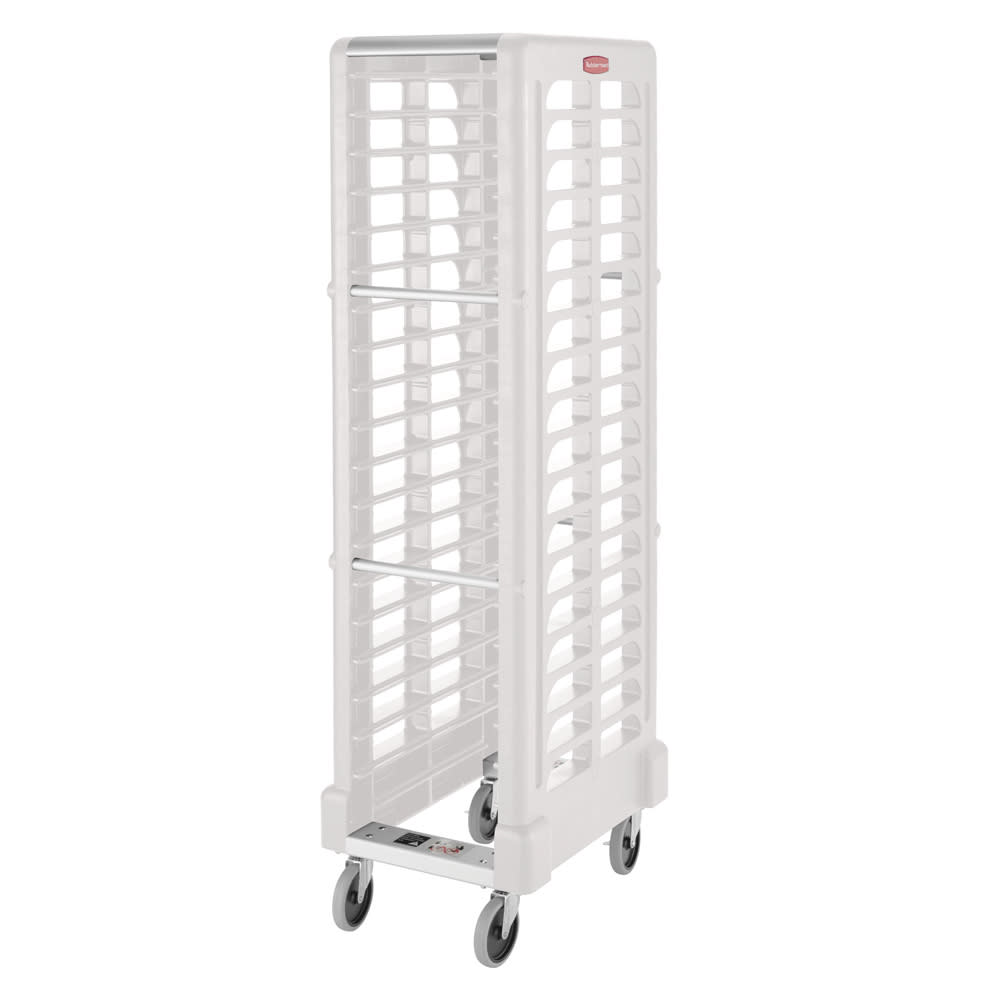 "Rubbermaid FG331700OWHT 18.625""W 18-Sheet Pan Rack w/ 2"" Bottom Load Slides"