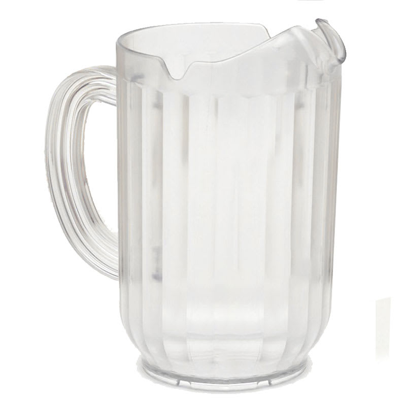 Rubbermaid FG333500CLR 48 oz Bouncer Pitcher - Clear Poly