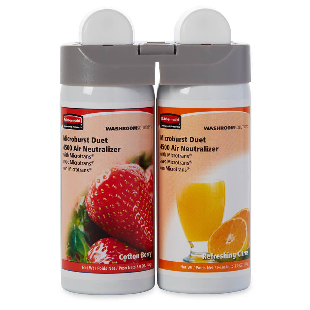 Rubbermaid 3485952 Microburst Duet Refill - Berry/Refreshing Citrus