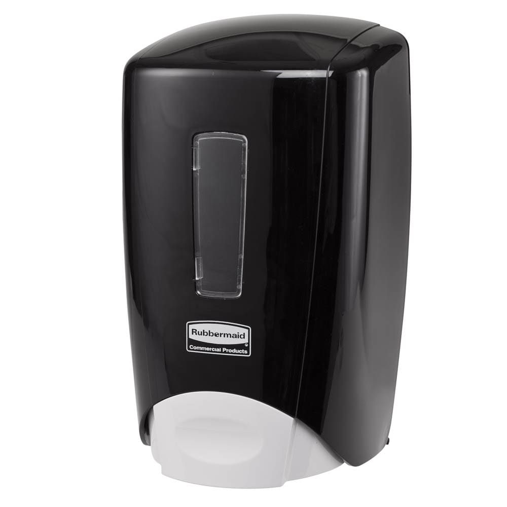 Rubbermaid 3486590 Manual Skin Care Dispenser - 500 ml Wall Mount, Black