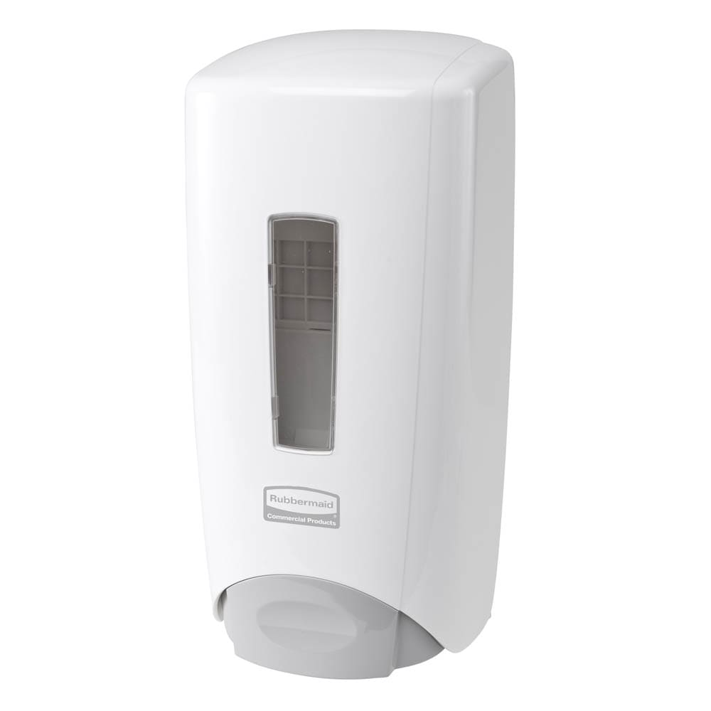 Rubbermaid 3486591 Manual Skin Care Dispenser - 1000/1300-ml Wall Mount, White