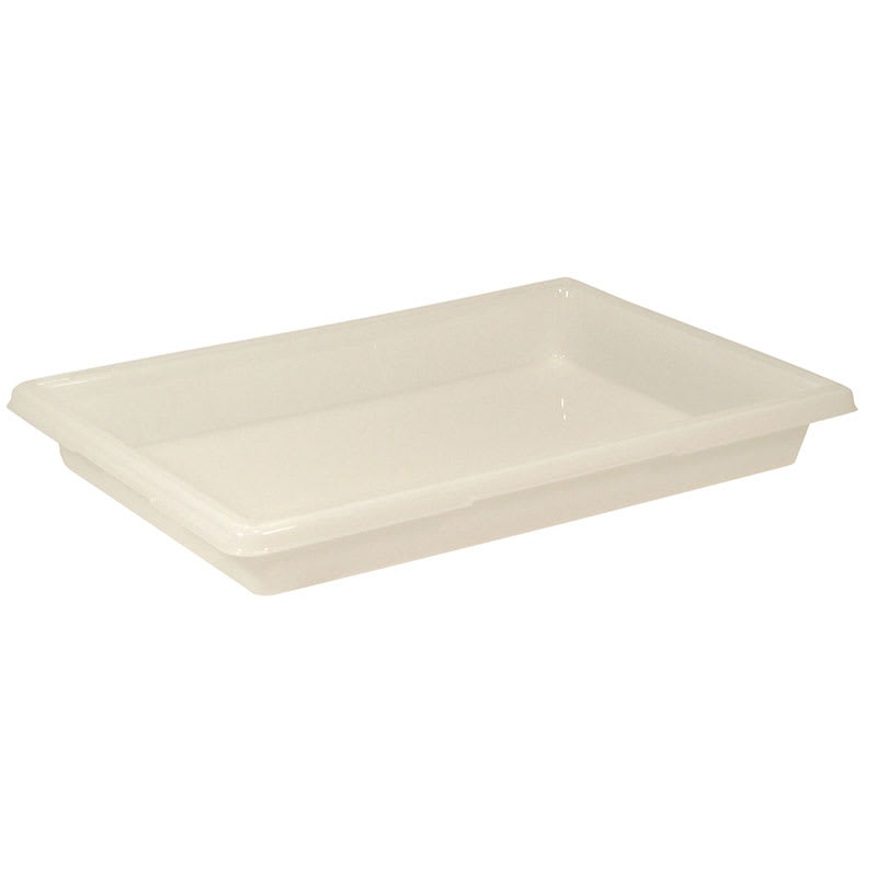 "Rubbermaid FG350600WHT 5 gal Food/Tote Box - 26x18x3 1/2"" White Poly"