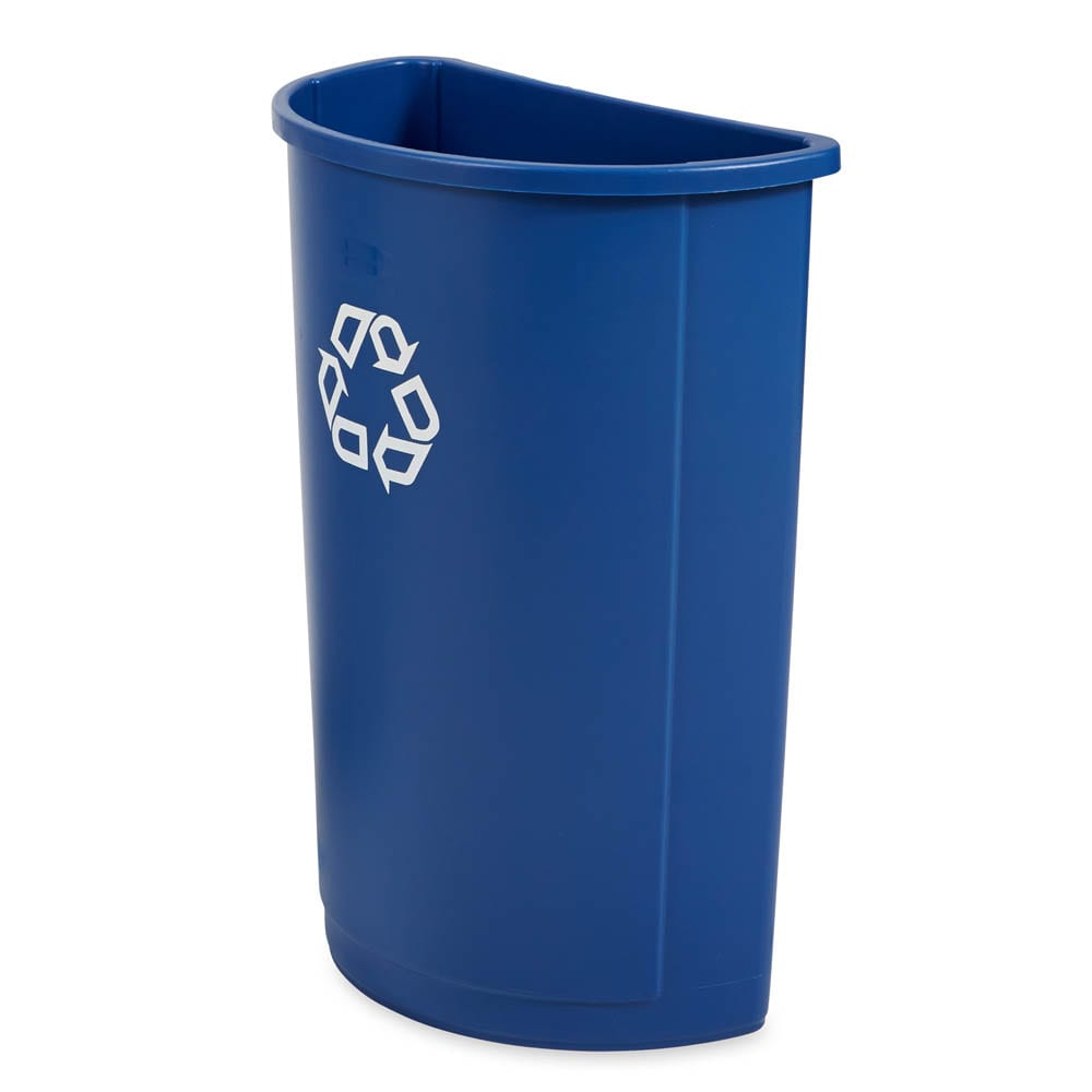 Rubbermaid FG352073BLUE 21-gal Multiple Material Recycle Bin - Indoor
