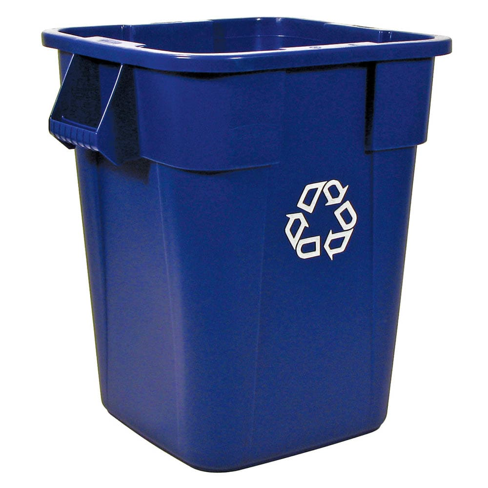 Rubbermaid FG353673BLUE 40-gal Multiple Material Recycle Bin - Indoor