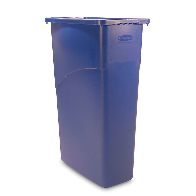 Rubbermaid FG354000BLUE 23-gal Multiple Material Recycle Bin - Indoor