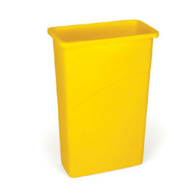 Rubbermaid FG354000YEL 23-gal Slim Jim Waste Container - Yellow