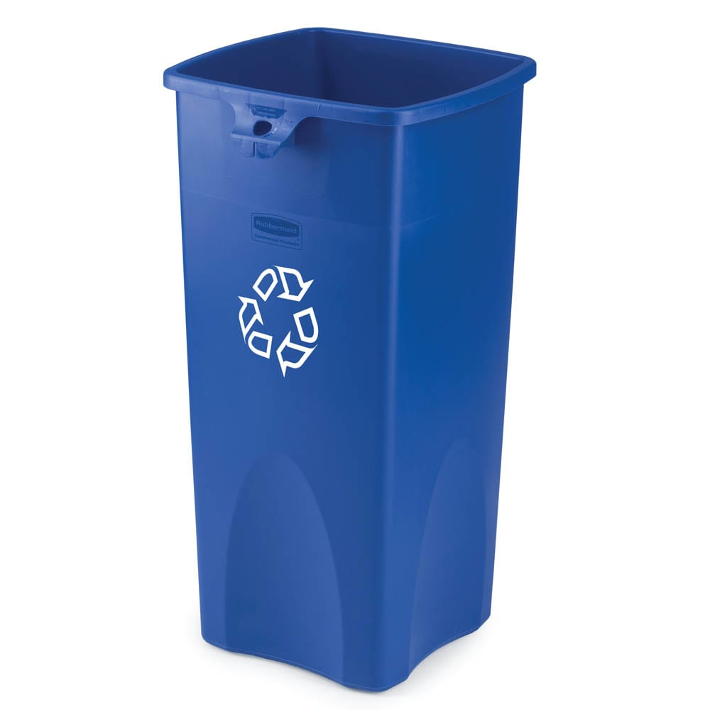 Rubbermaid FG356973BLUE 23-gal Multiple Material Recycle Bin - Indoor /Outdoor