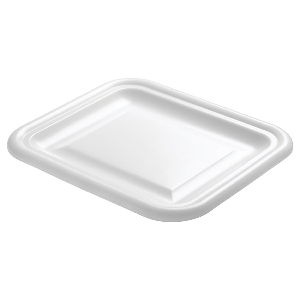 "Rubbermaid FG361600WHT Food/Tote Box Lid - 15x12-3/4"" White Poly"