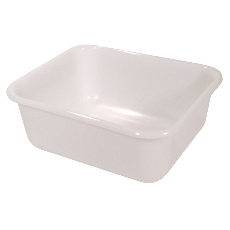 "Rubbermaid FG369000WHT 11 qt Food/Tote Box - 14 3/8x12 3/8x5 3/8"" White"